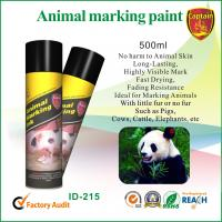 Wholesale Heat resistant spray animal marking paint with green / violet ink colors from china suppliers