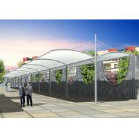 Wholesale Steel Car Park Shade Structures , Commercial Shade Canopy For Shelter from china suppliers