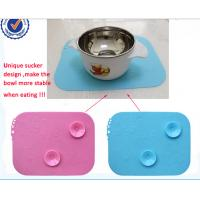 Wholesale BPA free Reuse Smooth Suction - Cup Style Baby Diner Mat Silicon For Chidren from china suppliers