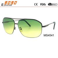 Hot Sale Mirrored Metal Sunglasses , UV 400 protection lens,suitable for men and women