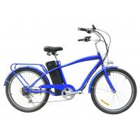 Buy cheap 24'' man e pedelec in cruiser 250W motor Battery Powered Bicycle High performance from wholesalers