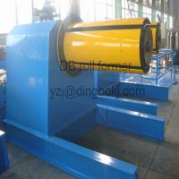 Wholesale Hydraulic Uncoiler Machine with PLC Vector Inverter Control System with Hydraulic Station from china suppliers
