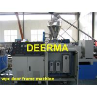 Wholesale 240 KG/H Plastic Profile Extrusion Line For WPC Door Frame Low Consumption from china suppliers
