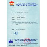 Zuoan Electric Appliance Co., Ltd. Certifications