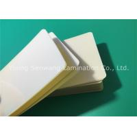 Wholesale Hot Sticky Back Laminating Film , 75 Micron Lamination Pouches Business Card Size from china suppliers