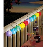 Quality 3m Color Solar Mini Lanterns String Lights - Cool White Solar Powered 10LED colorful hanging decoration for sale