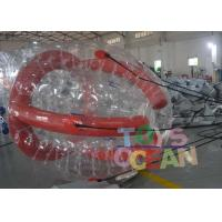 Wholesale Funny Red Color Inflatable Barf Ball Water Tube Playing On Water from china suppliers