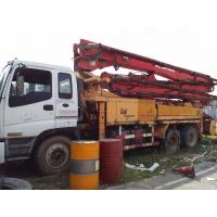 Wholesale putzmeister CONCRETE PUMPS ISUZU truck 2001 36m 42M Truck-Mounted Concrete Pump from china suppliers