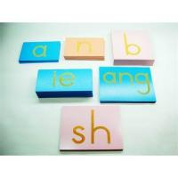 Wholesale Montessori Chinese Standpaper letters from china suppliers