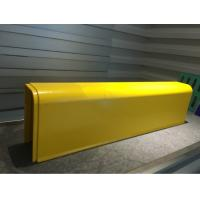 Wholesale Super strength Fiberglass Profiles Curbstone Yellow used in Auto / Motor Cyle Exhaust Canister Cover from china suppliers
