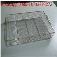 Wholesale medical stainless steel perforated grade 304 sterilization welded wire mesh basket/Perforated Technique Medical Steriliz from china suppliers