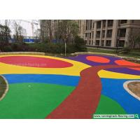 Wholesale Colorful EPDM Rubber Granules Flooring for Kindergarten / Playground from china suppliers