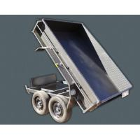 Wholesale Steel 10 X 5 Tipper Trailer , Hydraulic Dump Trailer With Light Protectors from china suppliers