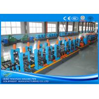 Wholesale Adjustable Pipe Size Steel Pipe Production Line Carbon Steel With 100m / Min Running Speed from china suppliers