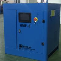 Quality 8 Bar VSD Electric Rotary Screw Air Compressor Industrial , 7.5kW 1.0m³/min for sale
