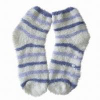 Wholesale Warm Cozy Yarn Socks, Ideal for Cold Season, Available in Various Designs, Colors and Sizes from china suppliers