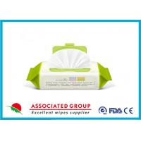 Quality Repeatable Seal Packing Wet Wipes For Baby Care With Ultra Compact Disposable Spunlace for sale