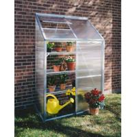 Wholesale Mini Polycarbonate Lean to Greenhouse , Galvanized Steel Garden Hobby Greenhouse Kits from china suppliers