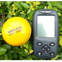 Wholesale FF998 EN RU menu Rechargeable Waterpoof Wireless Fishfinder echo sounder fish finder from china suppliers