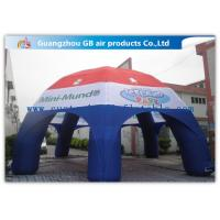 Wholesale Multicolor Spider Advertising / Exhibition Inflatable Air Tent Trade Show Booths Leisure Tent from china suppliers