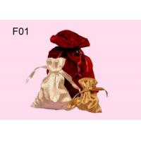 Wholesale Bridesmaid Earring Jewelry Gift Bags With A Ribbon Band Closure from china suppliers