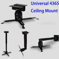 Wholesale Black Manual 43 -  65cm Universal Projector Ceiling Wall Mount For DLP LCD LED Video Beamer from china suppliers