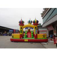 Wholesale EN71 Large PVC Tarpaulin Inflatable Amusement Park For Jumping from china suppliers