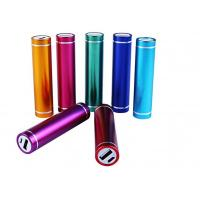 Wholesale Tube External Portable Power Bank , lithium polymer Power Banks For Smartphones from china suppliers