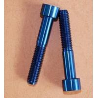 Wholesale TC4 corrosion resistant titanium alloy screw Bathyscaphs special from china suppliers