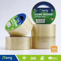 Wholesale China Supplier Offer Low Noise Clear BOPP Adhesive Packaging Tape for Carton Sealing from china suppliers