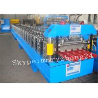 Wholesale Automatic Double - Layer Roof Panel Roll Forming Machine With Toching Screen from china suppliers