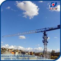 Wholesale Factory PT5010 HYCM Tower Crane 50M Lifting Jib 4T Max. Load Chart from china suppliers