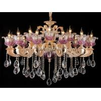 Wholesale Hotel Use 18 Bulbs Modern Crystal Chandelier Lighting with E12 / E14 Base from china suppliers