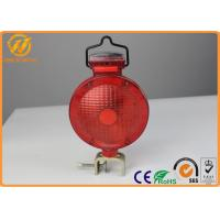 Wholesale Outdoor Rechargeable Traffic Warning Lights , LED Barricade Solar Powered Warning Lights from china suppliers