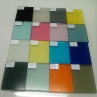 Wholesale Laminated Glass PVB Color Film Glass from china suppliers