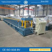 Wholesale High forming speed Metal Gutterf Roll Forming Machine with Mitsubishi PLC from china suppliers