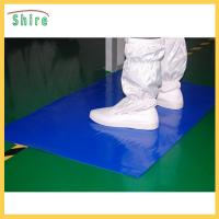 Quality Customized Size Mud Catcher Clean Room Sticky Mats For Shoes No Chemicals for sale