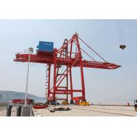 Wholesale Ship To Shore Port Gantry Crane For Container Handling , Quayside Container Crane from china suppliers