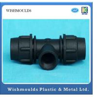 Wholesale Precision injection molding Plastic Engineering Products Threaded Pipe Fittings from china suppliers
