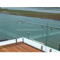 Wholesale Custom Colored Balustrade Glass Balcony Railing 6mm 8mm 10mm 12mm from china suppliers