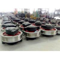 Buy cheap Whosesale factory price crane parts forged wheel with shaft from wholesalers
