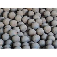 Wholesale Cast Iron Automobile Forged Steel Grinding Balls for Mining / Cement Plants Hardness 56 - 62 HRC from china suppliers