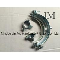Quality Sanitary Pipe Clamp Fittings With 8 - 10 Micron Thick Electro Galvanized for sale