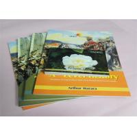 Wholesale Commercial Offset Printed Softcover Book Full Color / One Color Case Bound from china suppliers