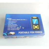 Quality Portable Sonar Fish Finder Depth Underwater Fishing Camera Sounder Alarm Transducer for sale