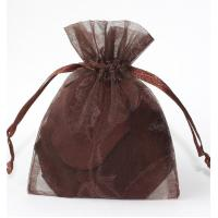 Eco-friendly Organza Gift Bags With Drawstring Rectangle Square For Jewelry gift
