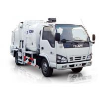 Wholesale Pure Electric Control Garbage Compactor Truck 4.3cbm Gas Heating from china suppliers