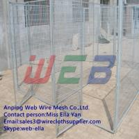Wholesale welded large dog kennel/dog cage/dog run from china suppliers