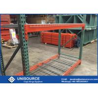 Wholesale Standard Teardrop Pallet Rack Shelving Corrosion Protection For Ourdoors from china suppliers