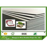 Wholesale Strong Stiffness Laminated Gray Cardboard Sheets / Rolls SGS Certification from china suppliers